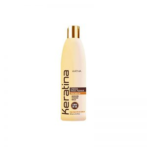 Crema de peinado Keratina