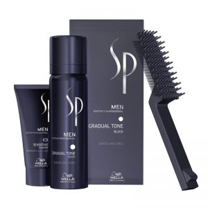 Wella System Professional Men Gradual Tone Black 60ml - Coloración Negro