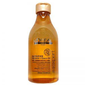 Champú loreal nutrifier sin silicona - Tienda de peluquería online PeloH!