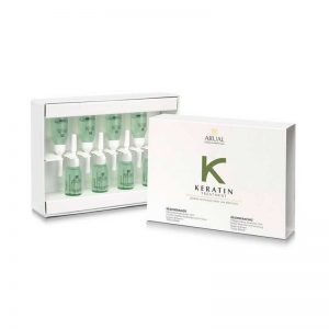 Ampollas Keratin treatment Arual 8 amp de 10ml