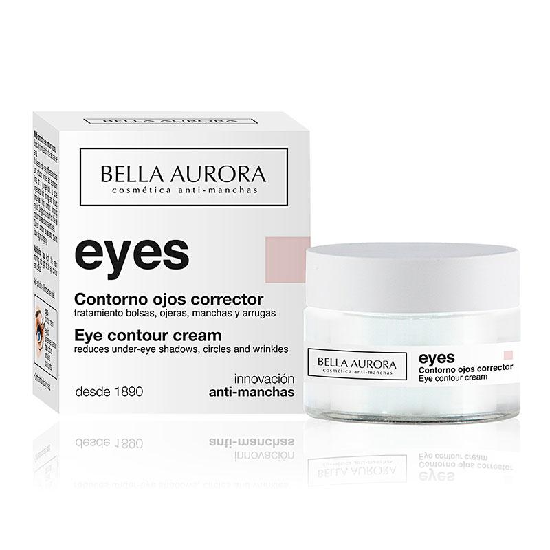 Contorno de ojos corrector Bella Aurora 15 ml - Tienda online PelOh!