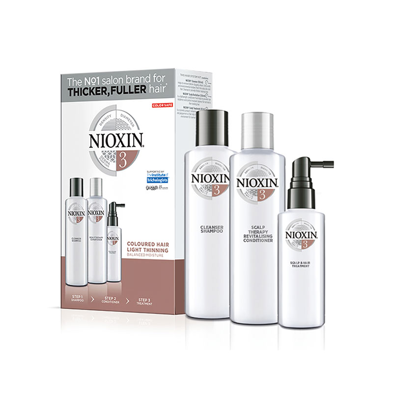 Nioxin Sistema nº3 anticaída - Peloh
