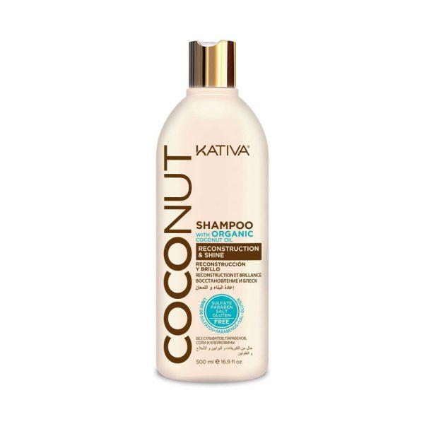 Champú Coconut Kativa