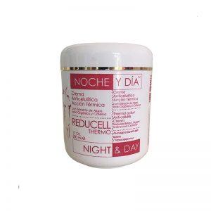 Crema Anticelulitica acción térmica Reducell Thermo Noche y día