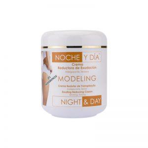 Crema Reductora Exudación Modeling Noche y día