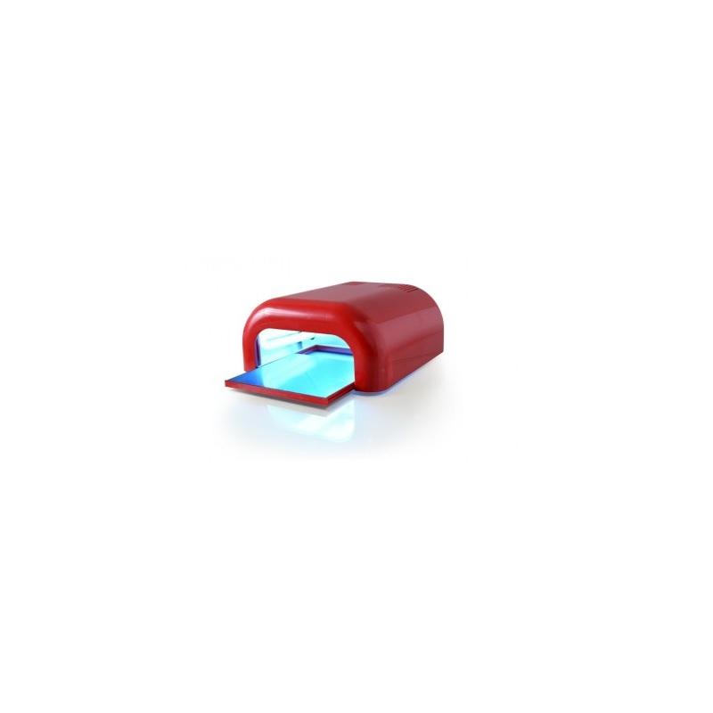 Lámpara UV extraíble tecnonails roja